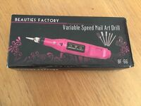Variable Speed Nail Art Drill, never used