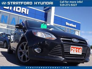 2014 Ford Focus SE | AUTO | HEATED SEATS | ALLOYS |  ONLY 46K! |