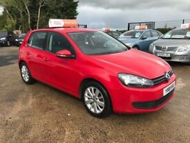2012 Volkswagen Golf 1.6 TDI Match **Full History** (FINANCE AND WARRANTY) (leon,a3,megane)