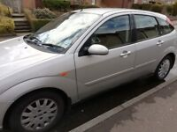FORD FOCUS 1.8 GHIA SILVER 2003 SPARES OR REPAIR