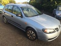 Nissan Almera Automtaic 2004 Very Low Mileage Long Mot £650