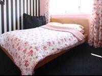 Double Bed Oak Effect, Malm by IKEA