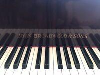 Piano. Baby Grand. John Broadwood and Sons.
