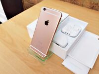 COSTUM Apple iPhone 6 16GB ROSE GOLD (Unlocked) GREATE CONDITION MUST SEE!