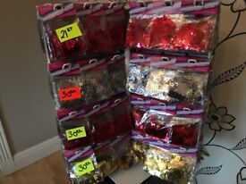 700 PACKETS OF VARIOUS SEQUINS GREAT VALUE
