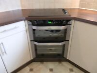 Belling BI 70 Double Oven and Belling CRS60 Ceramic Hob for Sale.
