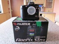 Boxed Mint Condition Fujifilm S3 Pro Digital SLR Camera