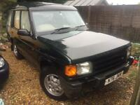 Land Rover Discovery 2.5 Diesel. 7 seater