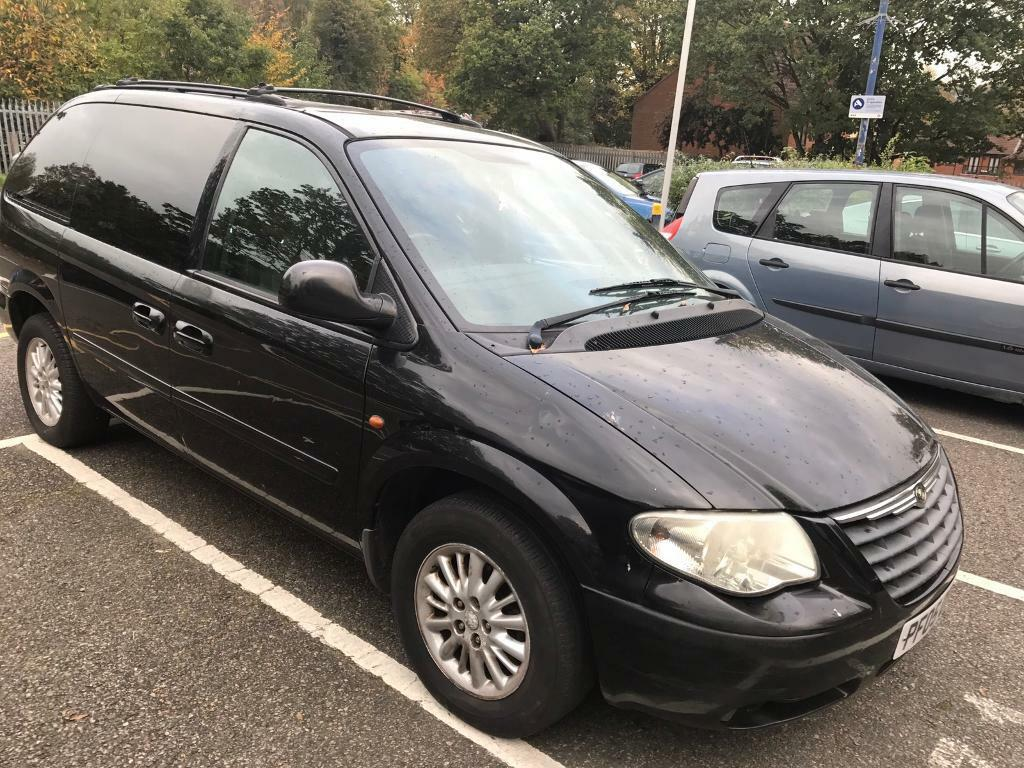 2006 chrysler grand voyager auto diesel 7 seat mot tax. Black Bedroom Furniture Sets. Home Design Ideas