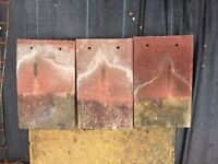 Roofing tiles- Redland Pin Tile roofing tiles, Priced at 10p a tile. £100 per thousand