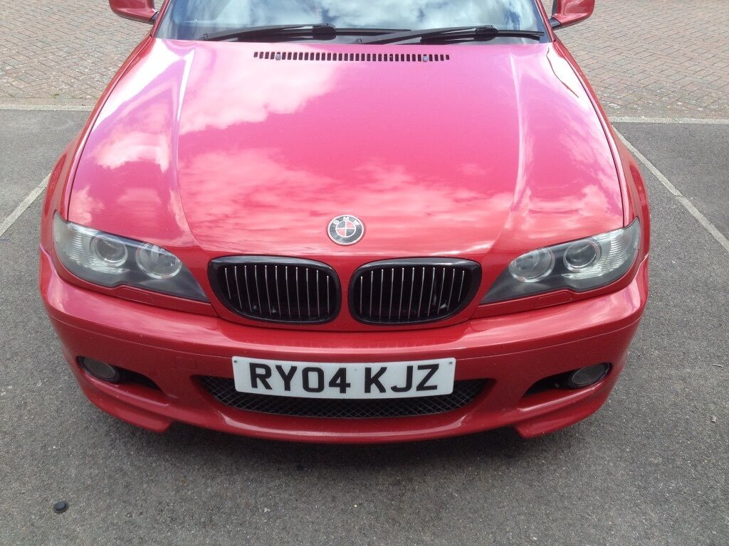 bmw e46 330ci facelift m sport 6 speed manual rare imola red in eastleigh hampshire gumtree. Black Bedroom Furniture Sets. Home Design Ideas