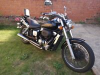 Honda 750 shadow full mot always starts comes with screen bags and top box 02 reg £1600ono