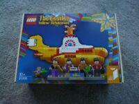 Lego 21306 The Beatles Yellow Submarine - Brand New & Sealed
