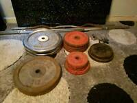 100+ KG of weights and bars