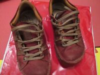Womens ART COMPANY shoes skyline trainers RED size 6