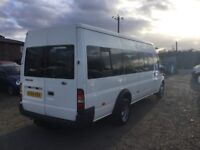54 FORD TRANSIT EXTRA LONGWHEELBASE 17 SEATER MINIBUS IN VGCONDITION DRIVES SUPERB LONG MOT PX WELCO