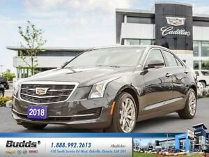 2018 Cadillac ATS 2.0L Turbo Luxury 2.99% for up to 60 months...