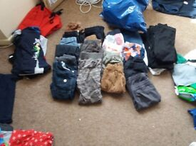 2 big bags of boys clothes. Age 6-9