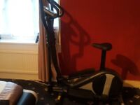 Roger Black Gold 2 in 1 Exercise Bike and Cross Trainer - GOOD AS NEW