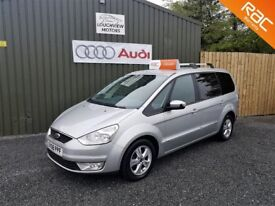 2008 FORD GALAXY ZETEC, 2.0 TDCI, 7 SEATER, SILVER, TWO OWNER CAR, SERVICED, *DEPOSIT TAKEN*