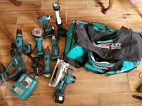 Makita cordless power tool kit