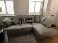 Large Chaise End Corner Sofa (Right hand)