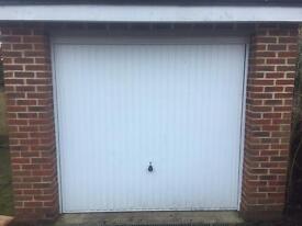 White Up & Over Garage Door