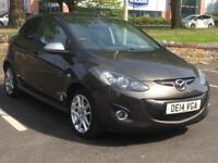 MAZDA 2 2014 (14 REG)*£3888*SAT NAV*LOW MILES*5 DOOR*MANUAL*CHEAP CAR TO RUN*PX WELCOME*DELIVERY