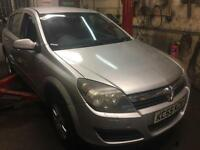 Vauxhall Astra 1.4 2005 1 year MOT brand new clutch