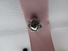 Genuine Sterling Silver Circle of Hearts Pandora Charm