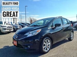 2015 Nissan Versa Note SL Navigation Htd Seats  FREE Delivery