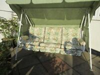 Garden Swinging Hammock - 3 seater - excellent condition