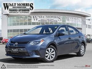 2016 TOYOTA COROLLA LE: ACCIDENT FREE, LOCAL VEHICLE, LOW KILOME