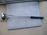 IN KINGS LYNN- PING SCOTSDALE TR GRAYHAWK ADJUSTABLE PUTTER WITH HEADCOVER