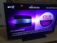 "Toshiba 40"" LED full HD with freeview built in1080p"