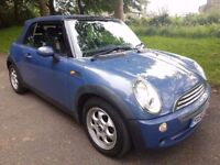 MINI COOPER 1.6 CONVERTIBLE CABRIOLET – FREE DELIVERY