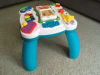Leap Frog Learn & Groove Play Table - in Excellent Condition