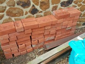 120 red bricks