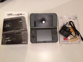 LATEST NEW 3DS LL (equal to NEW 3DL XL) *Not a single scratch*/w charger & all items in box