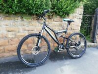 NEW BOSS STEALTH DUAL SUSPENSION MTB 21 SPEED SHIMMANO GEARS