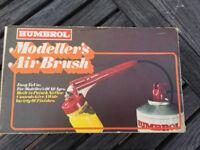 Humbrol Modellers Air Brush Kit - Unused