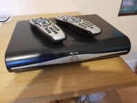 Sky Satellite Box with 2 remotes