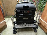 Preston X6S Fishing seat box