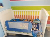 Boori White Cot Bed Country Collection