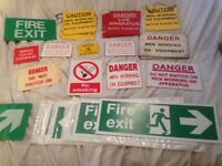Warning, Exit, Electrical & Safety Signs