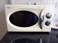 Cream microwave