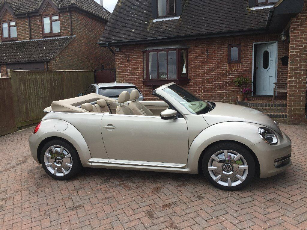 vw beetle cabriolet convertible for sale in southampton hampshire gumtree. Black Bedroom Furniture Sets. Home Design Ideas