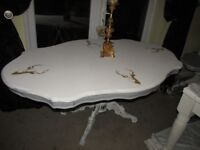 Stags head dining table