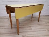 Formica Table (DELIVERY AVAILABLE FOR THIS ITEM OF FURNITURE)