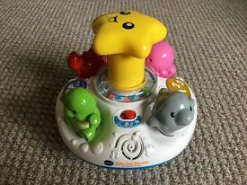Vtech Spin and Discover Ocean Fun Spinning Top - Excellent Condition